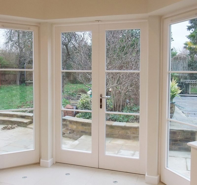 White French Door - Pristine Condition
