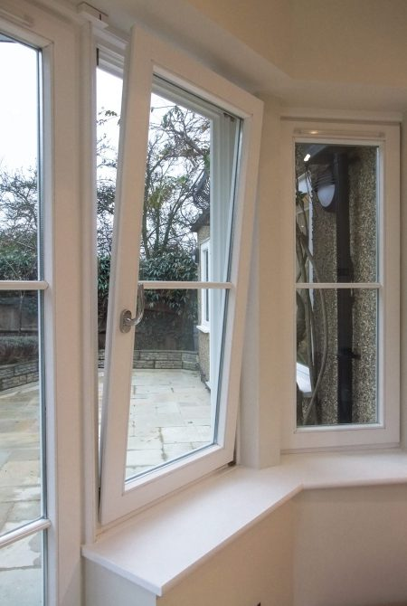 European Style Tilt and Turn Casement Window