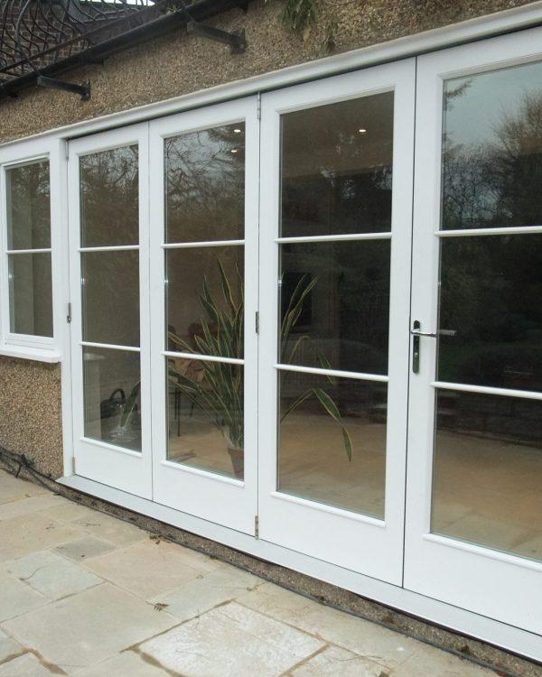 Bi-fold door located in Gloucester