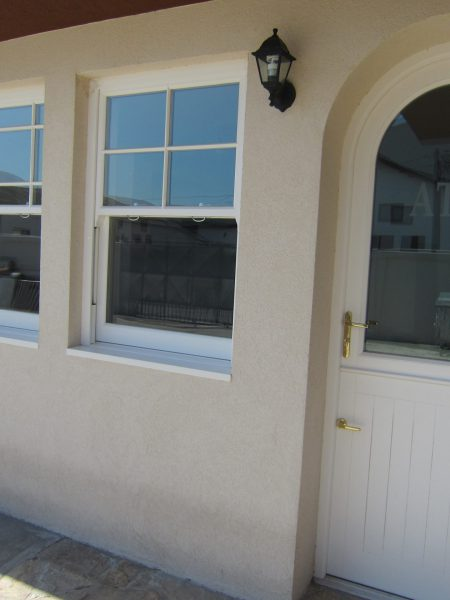 ATW Office Heritage Window Stable Door Combination Frame