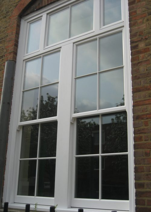 Traditional Sliding Sash Timber Window With Weights & Pulleys